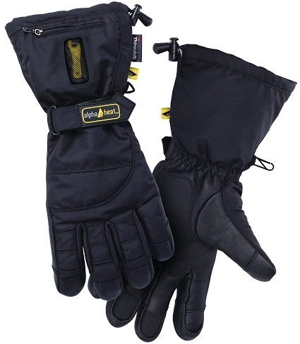 alphaheat premium 7v battery heated gloves