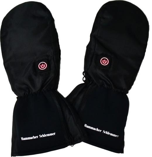 heatd ski mittens