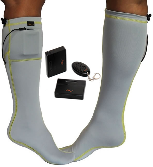 best electric rechargeable heated socks