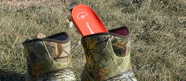 heated insoles for hunting