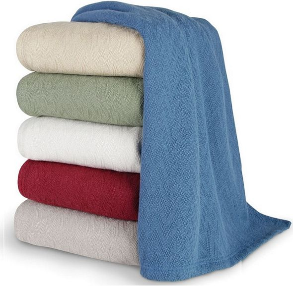 temperature regulating blanket