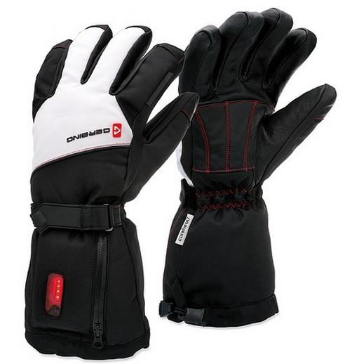 rechargeable battery operated heated gloves