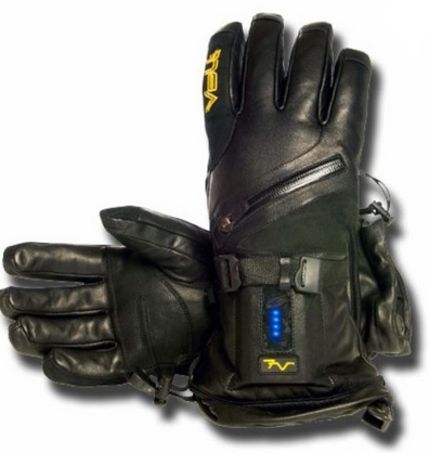 Volt Titan 7V Waterproof Leather Heated Gloves for Men