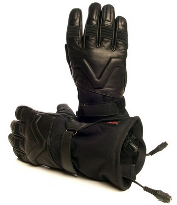Volt Heat MOTO Leather Motorcycle Gloves