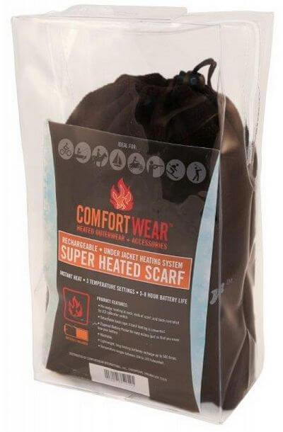 Comfort Wear Heated Scarf