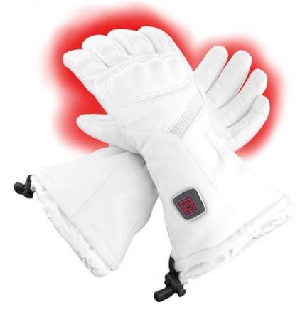 battery heated ski gloves