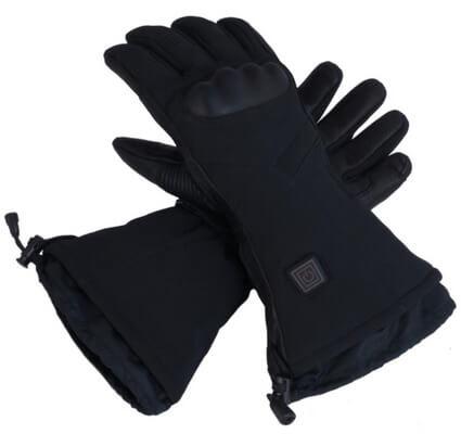electric ski gloves