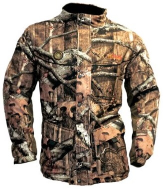 heated camo jacket