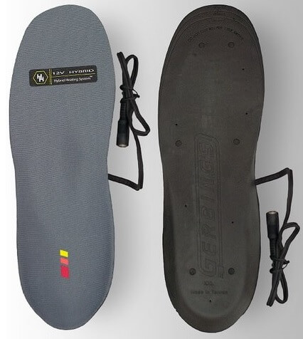 motorcycle heated insoles
