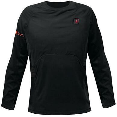 battery heated base layer