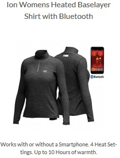 be9db97e9d443 battery heated base layer shirt mens heated shirt womens long sleeve