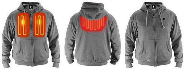 battery heated hoodie actionheat 5v