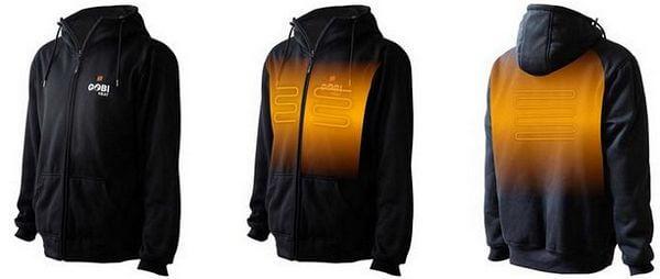 battery operated hoodie gobi mens