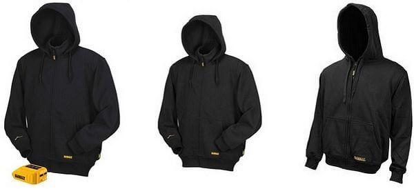 mens heated hoodie dewalt 20v-12v max