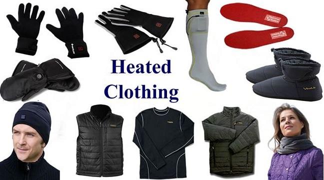 here to Buy Heated Gloves, Jackets, Socks