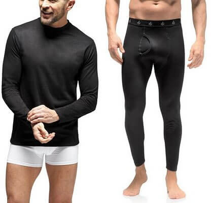 thermal tops and bottoms for men