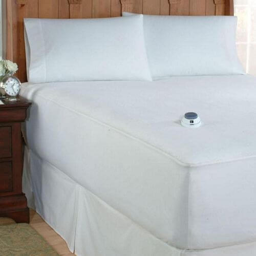 Soft Heat MicroPlush Low Voltage Heated Mattress Pad
