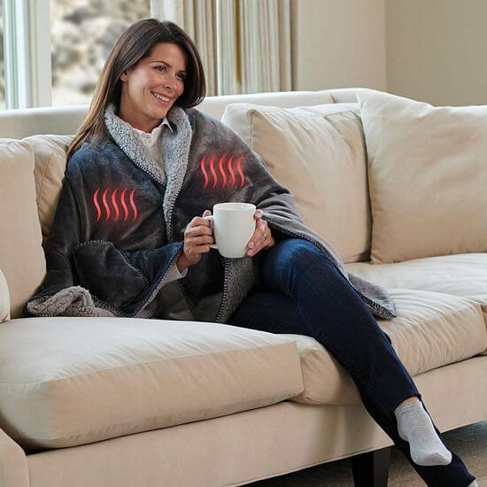 electric heated shawl