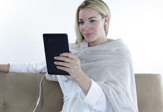 usb heated shawl