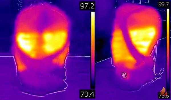 thermal imagery balaclava