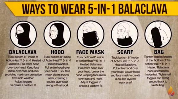 ways to wear balalava