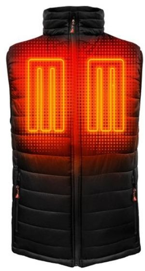 5V Battery Heated Insulated Puffer Vest - Men's