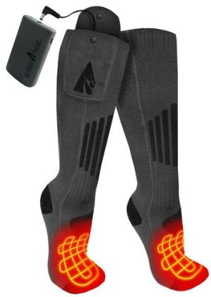 3.7V Rechargeable Heated Socks 2.0 with Remote