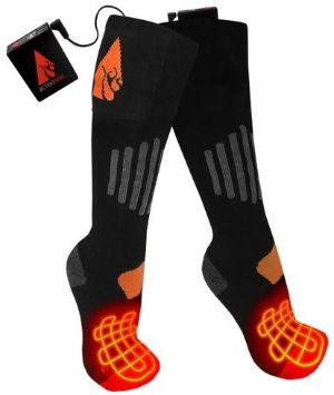 3.7V Rechargeable Battery Heated Socks - Wool