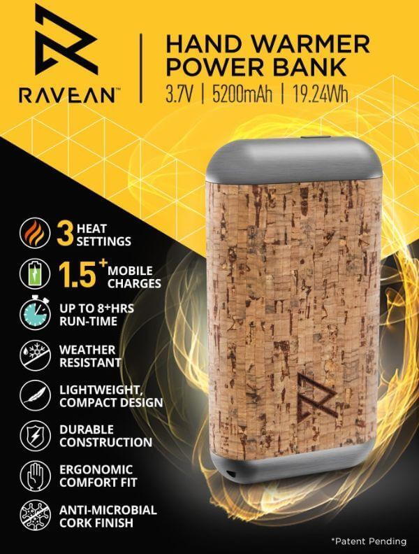 electric hand warmer