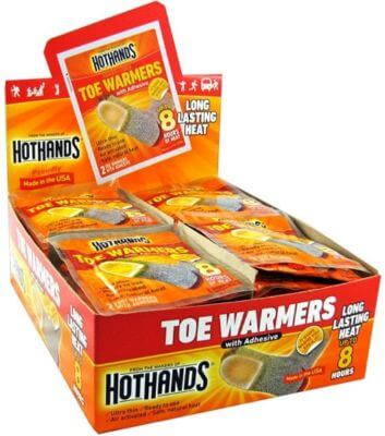 best chemical toe warmers