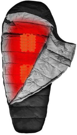 electric heated sleeping bag