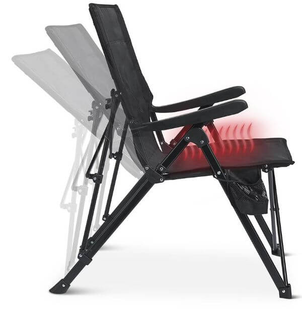 heated outdoor chair